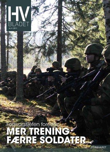 HV-bladet 0411 - Heimevernet - Forsvaret