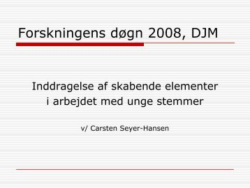 powerpoints - musikkons.dk