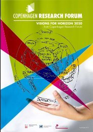 visions for horizon 2020