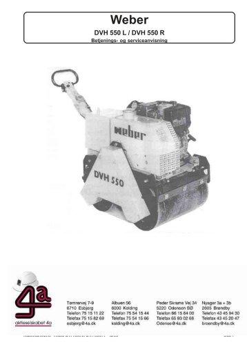 Brugervejledning - 298.5 KB - AL Del-Pin A/S