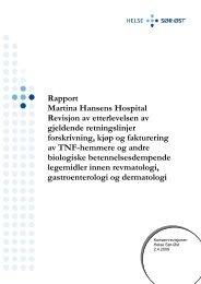 8e47493d5 Årsrapport 2010 - Martina Hansens Hospital