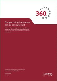 360 Brochuren for Professionelle (PDF, 1456 KB) - Unitron
