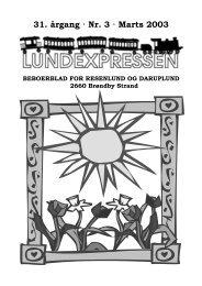 31. årgang · Nr. 3 · Marts 2003 - lundens.net