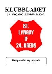 Klubblad Februar 2009 - St. Lyngby IF