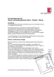 Forretningsorden for Social- og Sundhedsskolen Skive ... - SOSU-STV
