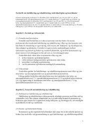 1 Forskrift om habilitering og rehabilitering, individuell ... - Helse Nord