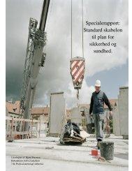 Standard skabelon til plan for sikkerhed og sundhed. - Københavns ...