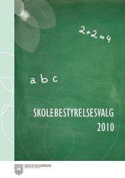 Skolebesty ny folder 2010 - Ordrup Skole