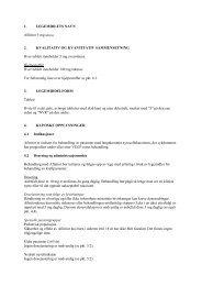 1. LEGEMIDLETS NAVN Afinitor 5 mg tabletter 2 ... - Nyrekreft.no