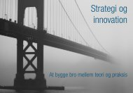 Strategi og innovation