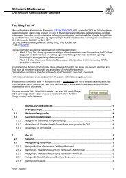 Part 66 og Part 147 vejledende information
