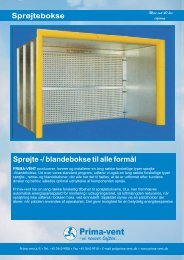 Download brochure - Prima-vent A/S