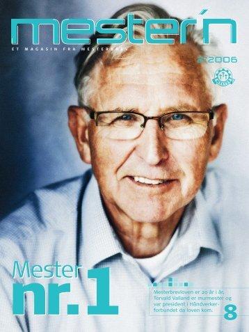Mester'n 2-2006 - Mesterbrev