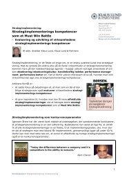 Strategiimplementerings kompetencer som et Must Win Battle PDF