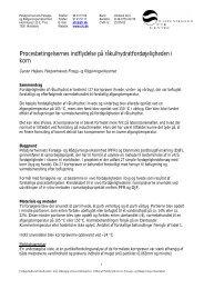 Korn, Procesbetingelsernes effekt på ... - Kopenhagen Fur