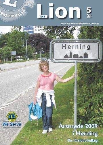Årsmøde 2009 i Herning - Lions Danmark