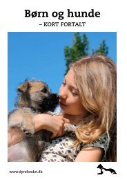 Børn og hunde - Dyrefondet