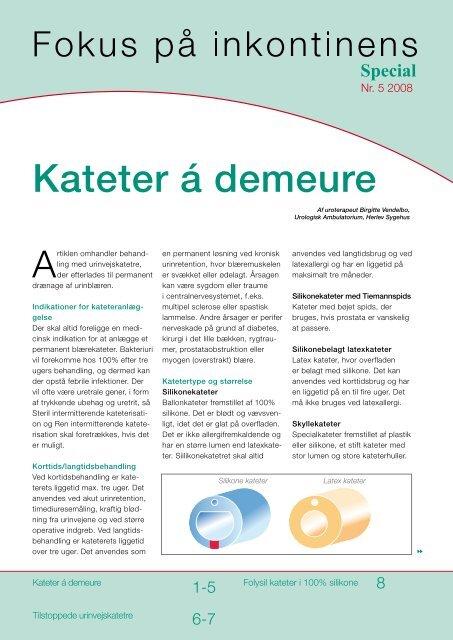 blærespasmer kateter