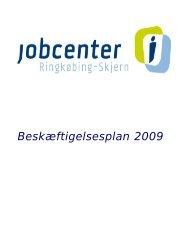 Beskæftigelsesplan 2009_0.pdf - Ringkøbing-Skjern Kommune