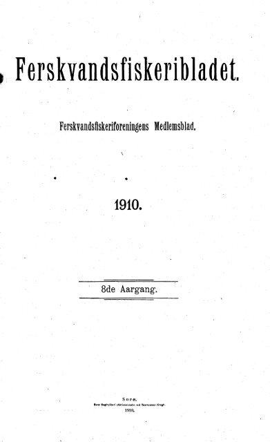 • Ferskvandsfiskeribladet. - Runkebjerg.dk