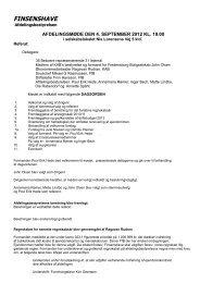 Afdelingsmøde referat 040912 - Finsenshave