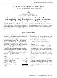 Corel Ventura - BATCH072.CHP - Forsikrings- og Erstatningsretlig ...