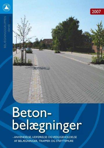 anvendelse, udførsel og vedligeholdelse 2007 - Grindsted ...