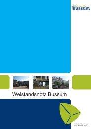 Welstandsnota 2012 - Gemeente Bussum