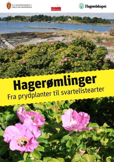 Brosjyre - hagerømlinger - Artsdatabanken