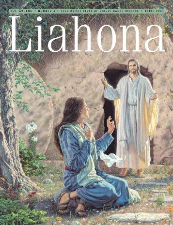 April 2003 Liahona - Jesu Kristi Kirke af Sidste Dages Hellige