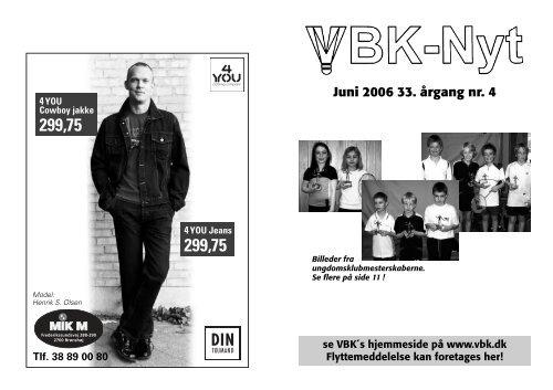 Juni 2006 33. årgang nr. 4 - Vanløse Badminton Klub