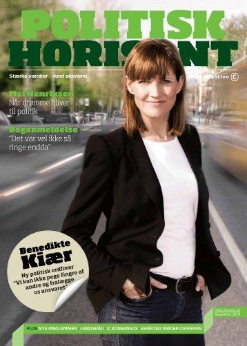 Politisk Horisont nr. 3 2011 - Konservative Folkeparti