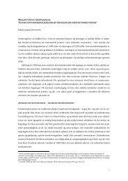 Mellem fund og fremtrædelse - Statens Byggeforskningsinstitut