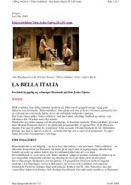 LA BELLA ITALIA **** - AU/BIO