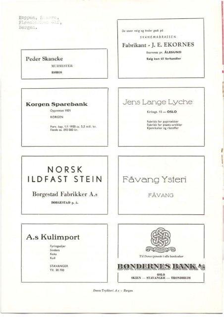 eksisterende nr i ett - Norsk Døvehistorisk Selskap