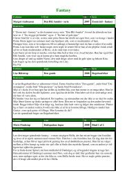20110328 Fantasy - Terndrup Skole