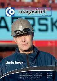 Lindø lever - CO-industri