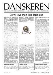 DANSKEREN nr. 1 - 2008.pub - Den Danske Forening