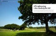 På sight seeing i den sønder jyske kål - Haderslev Golfklub