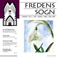 2007 nr. 2 - Fredens Kirke/Fredens sogn