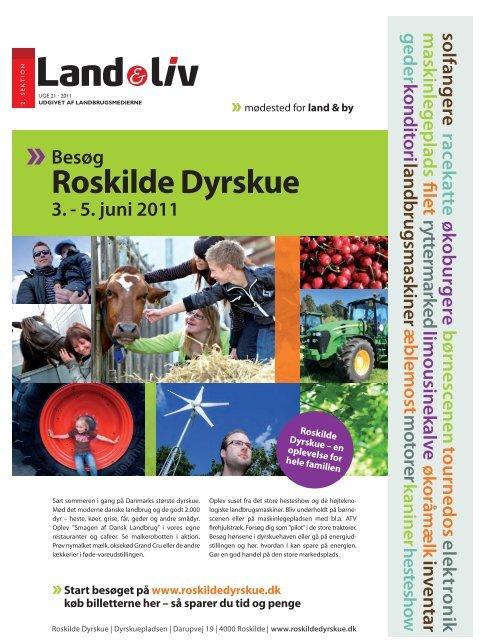 Roskilde Dyrskue Land Liv
