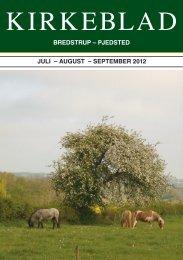 Kirkebladet 2-2012 - Bredstrup-Pjedsted