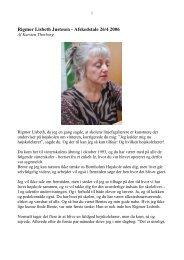 Rigmor Lisbeth - Afskedstale 26/4 2006