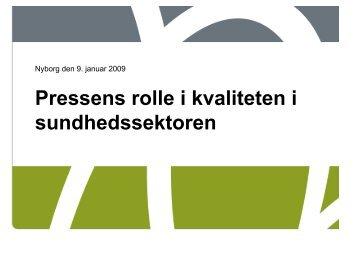 Workshopleder: Direktør Søren Braun, Region Syddanmark