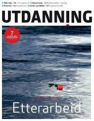 Utdanning nummer 07 2012 - Utdanningsnytt.no