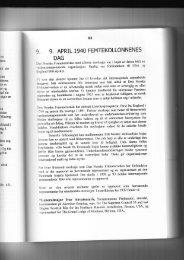 9. APRIL 1940 FEMTEKOLLONNENES - Grunnlovens-vektere