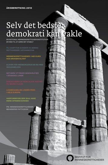 Download årsberetningen for 2010 her (PDF) - Institut for ...