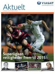 Superligaen - rettigheder frem til 2015 - Viasat