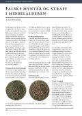 Falske mynter og straff i middelalderen Av Svein H. Gullbekk - Page 2