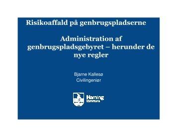 (Microsoft PowerPoint - Bjarne Kalles\370 ... - Herning Kommune